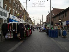 Walthamstow high street market