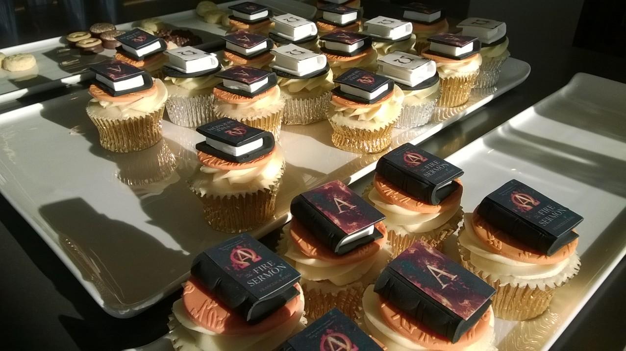 Event Recap and Book Haul: The Fire Sermon blogger's event