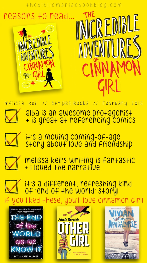 cinnamon girl infographic